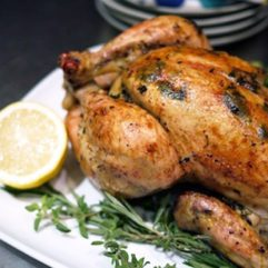 Pastured, Whole Roasted Chicken